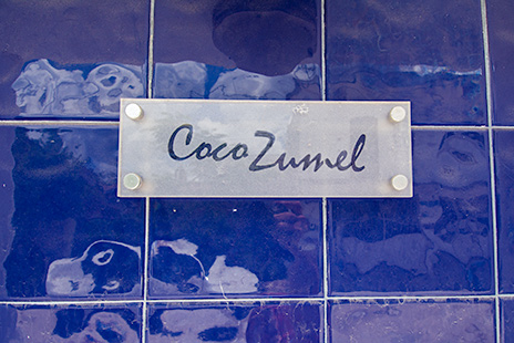 CocoZumel sign