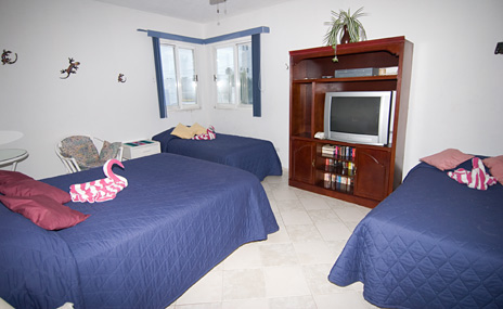 Bedroom #2 at  Casa Jen, a Cozumel vacation rental villa