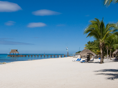 Residencias Reef Beach and Dive Boat Pier, Cozumel, Mexico